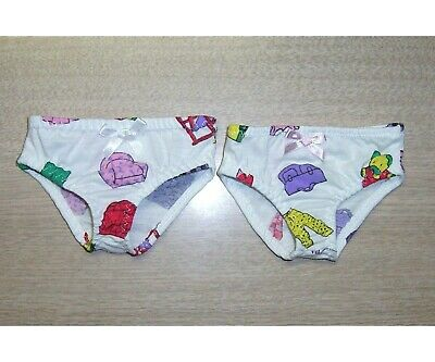 "DOLLS KNICKERS - 17"" BABY BORN 16"" CABBAGE PATCH Dolls UNDIES CLOTHES"