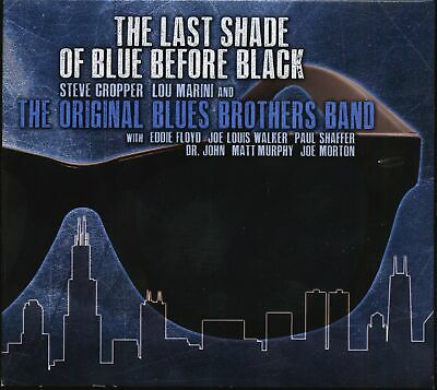 The Blues Brothers Band - The Last Shade Of Blue Before Black (CD) - The Blues
