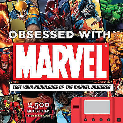 """""""AS NEW"""" Sanderson, Peter, Obsessed with Marvel: Test Your Knowledge of the Marv"""