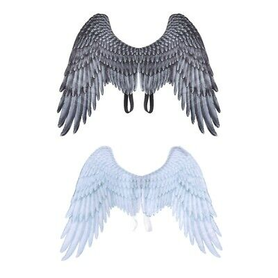 3D Angel Wings Halloween Mardi Gras for Dress Up Party Costume Cosplay Decor New