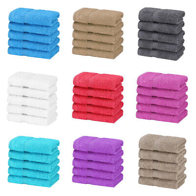 4 x Bath Sheets Extra Large Jumbo 100% Cotton Towels Super Soft 90cm x 155cm Wow