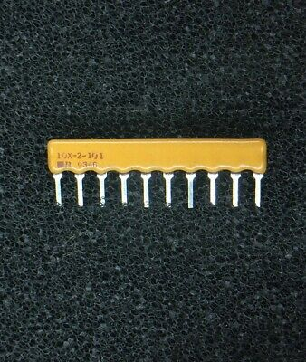 2/% 1 piece ISO RES N//W 3 1KOHM BOURNS 4606X-102-102LF RESISTOR SIP