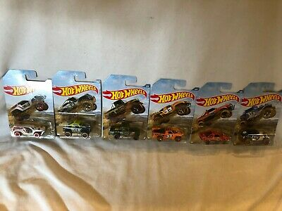 Hot Wheels Off Road Truck Series Full Set Walmart Exclusive Scrambler Subaru NEW