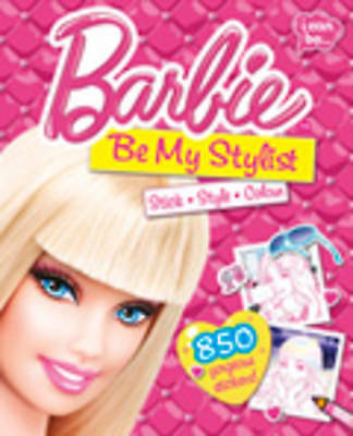 , Barbie Be My Stylist, Paperback, Very Good Book