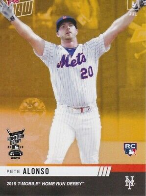 2019 TOPPS NOW Pete Alonso HRD-2B ASG Home Run Derby Winner  Combined Shipping