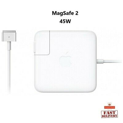 "Genuine Apple Macbook Air 11 / 13"" - Inch 45W MagSafe 2 Power Adapter Charger UK"