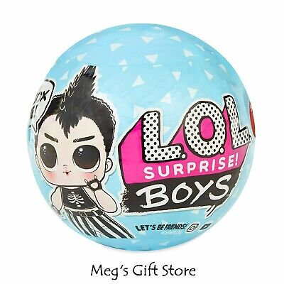 Authentic New 2019 LOL Surprise Boys Series Boy Doll - Color Changer?