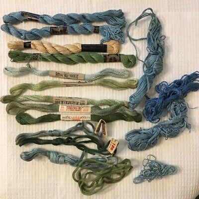 Vintage Antique Royal Society Embroidery Floss Rope