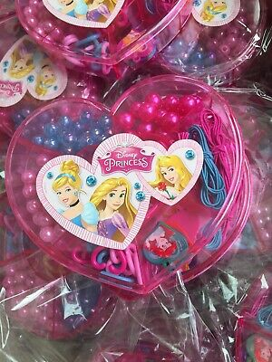 job lot wholesale Disney Princess Jewellery making sets x 10 party gift toy
