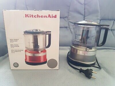KitchenAid  Food Processor Zerkleinerer One Touch Silber Top Zust.