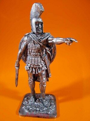 Tin soldiers 54m Greek Hoplite, 5th century BC ancient Greece statuette A190