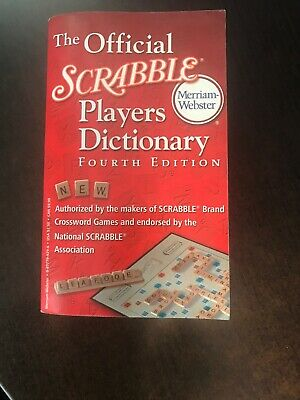 The Official Scrabble Players Dictionary (2005, Paperback, Revised, New Edition)