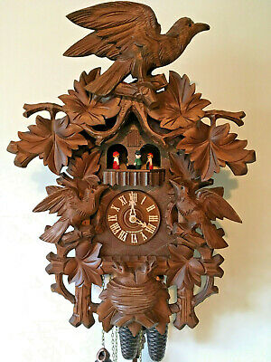 Black Forest 8 Day Regula Musical Mechanical  Large Cuckoo Clock Large 54cm