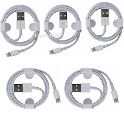 Lot 6FT Genuine Original OEM Apple Lightning USB Charger Cable iPhone 6 7 X XR