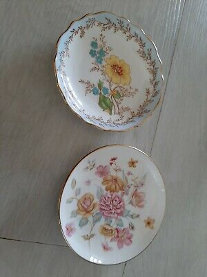 2 x Pin Dishes - Tuscan & Queen Anne Fine Bone China (20)