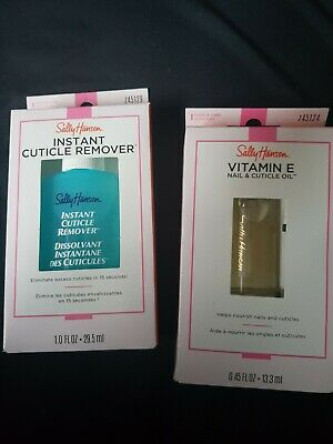 Sally Hansen instant cuticle remover & Sally Hansen Vitamin E Nail & Cuticle oil