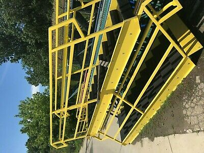 """Stairway, used, steel, assembled, 36"""" x 74"""" rise Chicago"""