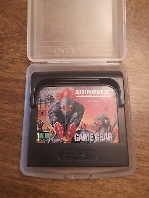 Game Gear Shinobi 2 The Silent Fury, Cart and case only