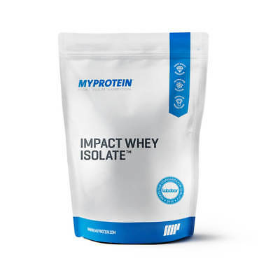 MYPROTEIN IMPACT WHEY ISOLATE - 11 LBS (5kg) PACK (13 flavors available)