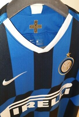 Inter Milan Lautaro 10 Home Shirt 19/20, Size XL Brand New With Tags CL Badges