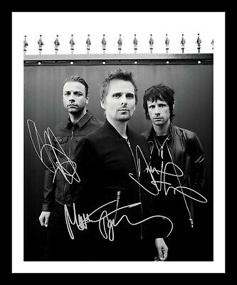 Muse Autographed Signed & Framed Pp Poster Photo