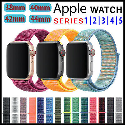 Correa Apple Watch Pulsera iWatch para Series 1/2/3/4 38 40 42 44mm Recambio