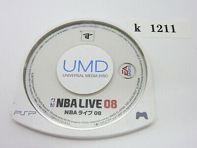 NBA LIVE 08 PSP Japanese PlayStation Portable UMD Game Sony k1211