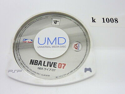 NBA LIVE 07 PSP Japanese PlayStation Portable UMD Game Sony k1008