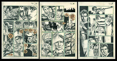 Mike Grell - Jon Sable, Freelance - 3 pages