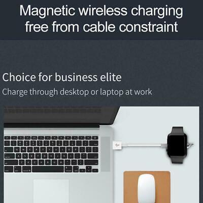 Magnetic Wireless Charger Induction For Apple Watch 1 Power 3 2 USB 4 Serie H0L5