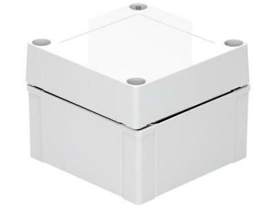 1 X ABS 95/75 HG Enclosure: multipurpose; X:100mm; Y:100mm; Z:75mm; MNX; ABS; gr