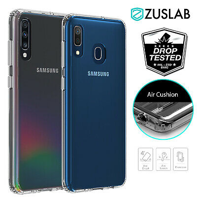 Samsung Galaxy A20 A30 A50 A70 Case Clear Heavy Duty Shockproof Slim Cover