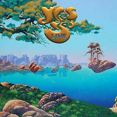 Yes Cd - Yes 50 Live [2 Discs](2019) - New Unopened - Rock - Rhino