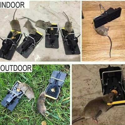 Mouse Catcher Set Plastic Alloy Mice Rat Trap Reusable Hot 1 Rodent Traps S O8F6