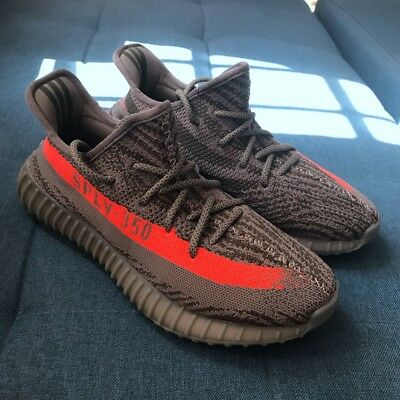 US Size5-10 Men's Yeezy-Boost 350 V2 TRAINERS FITNESS GYM SPORTS RUNNING SHOCK