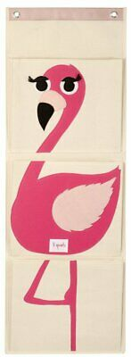 3 Sprouts Wall Organiser - Flamingo