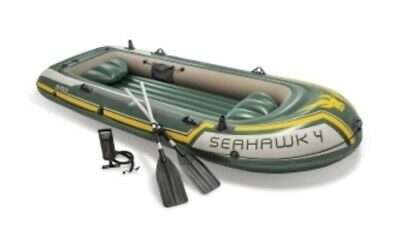 Intex Schlauchboot Seahawk 4 Set, 351x145x48cm