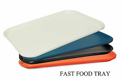 Tri-Star Plastic Fast Food Serving Tray Ideal For Barware & Restaurant 38cmX27cm