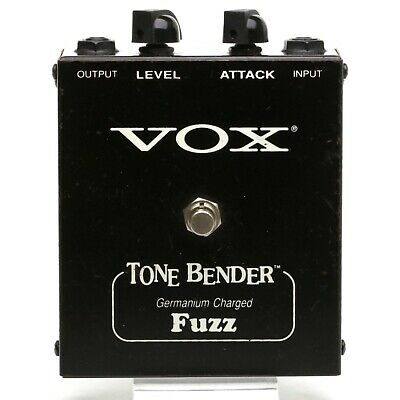 VOX MODEL V829 TONE BENDER Germanium Charged Fuzz Effect Pedal Made in USA