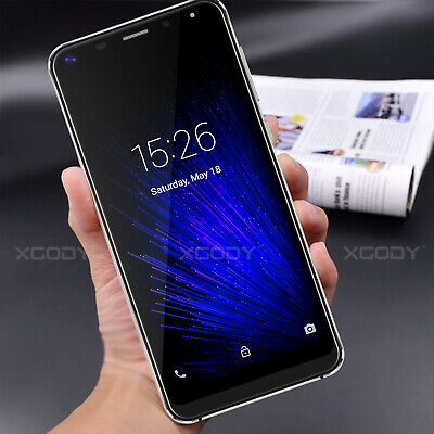 "2019 Unlocked Android 8.1 Mobile Smart Phones 5.5"" 2+16GB Dual Sim 4Core Phablet"
