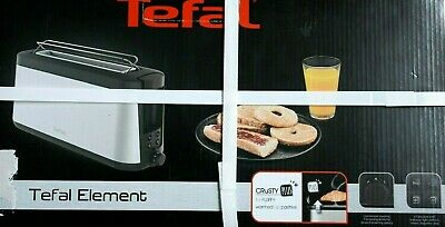 Neuf!  GRILLE PAIN TOASTER TEFAL ELEMENT mod. TL430811 + CRUSTY PLUS