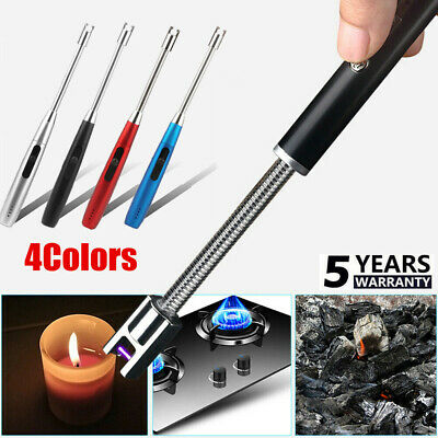 Electric USB Rechargeable Kitchen Windproof Electronic Arc BBQ Flameless Lighter