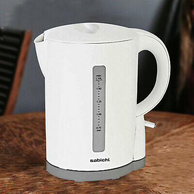 Sabichi 3000W 1.7 Litres Boil Dry Protection Washable Filter Electric Jug Kettle