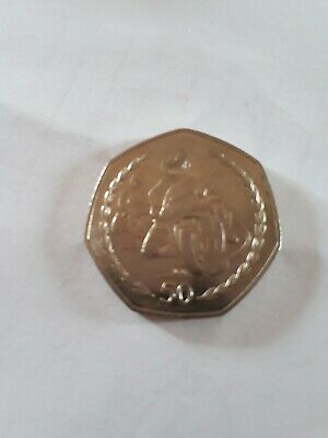 Isle of Man...1997 TT RACES IOM 50P Coin....COLLECTABLE FIFTY pence...