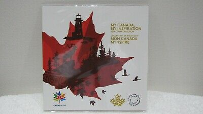 2017 My Canada- My Inspiration Collector Card- 5 Coin Set