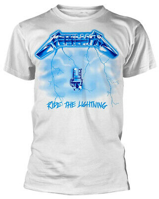 METALLICA T-Shirt Electric Chair Ride The Lightning Vintage Distressed S-3XL