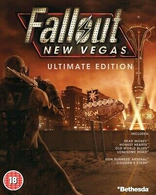 Fallout New Vegas Ultimate Edition Region Free PC KEY (Steam)