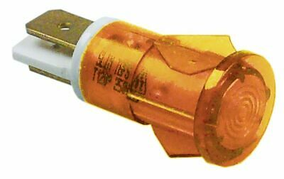 Indicator Light D 13Mm Yellow 230V Connection Male Faston 6.3Mm
