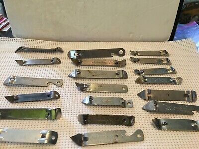 Vintage Beer Bottle/Can Openers Lot of 20 Advertising Goebel Schmidts piels etc.