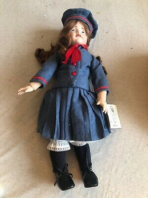 "Vintage Porcelain French Doll 17"" Hans Gretchen K*R"